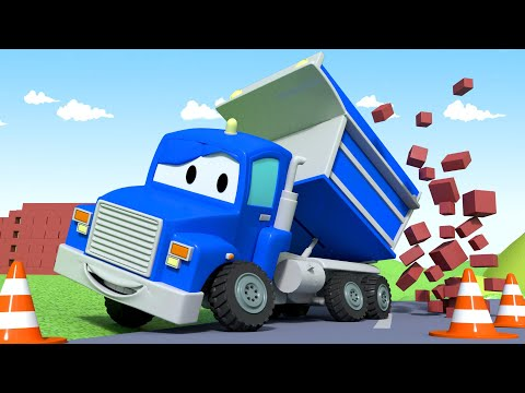Truk Dump - The Dump Truck 🚚 Carl si trek super⍟Truck Animation for Kids