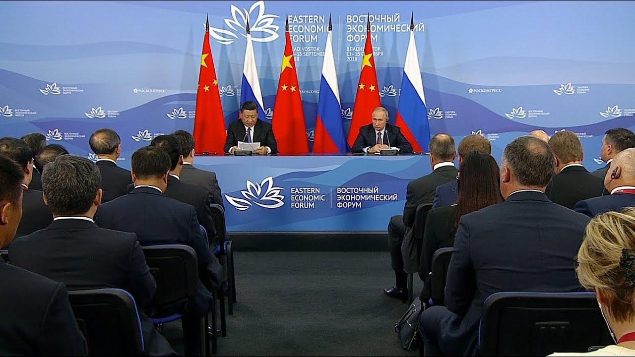 Заявления для прессы по итогам переговоров с Председателем КНР Си Цзиньпином