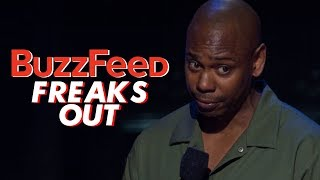 BuzzFeed is Mad at Dave Chappelle's New Netflix Stand Up Sticks and Stones Too | The Rewired Soul