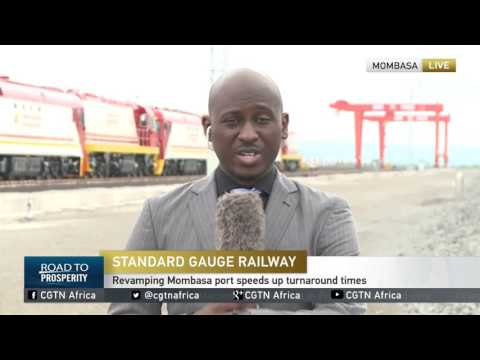 LIVE: Kenyan president to launch first cargo train on new rail link