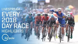 Every 2018 Day Race Highlights | Livestream | inCycle