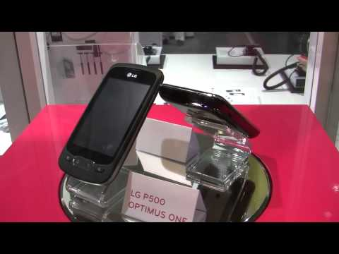 LG Optimus One and Optimus Chic Android phones