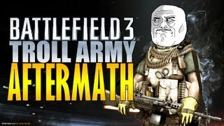 bf3 troll army meets aftermath funny moments