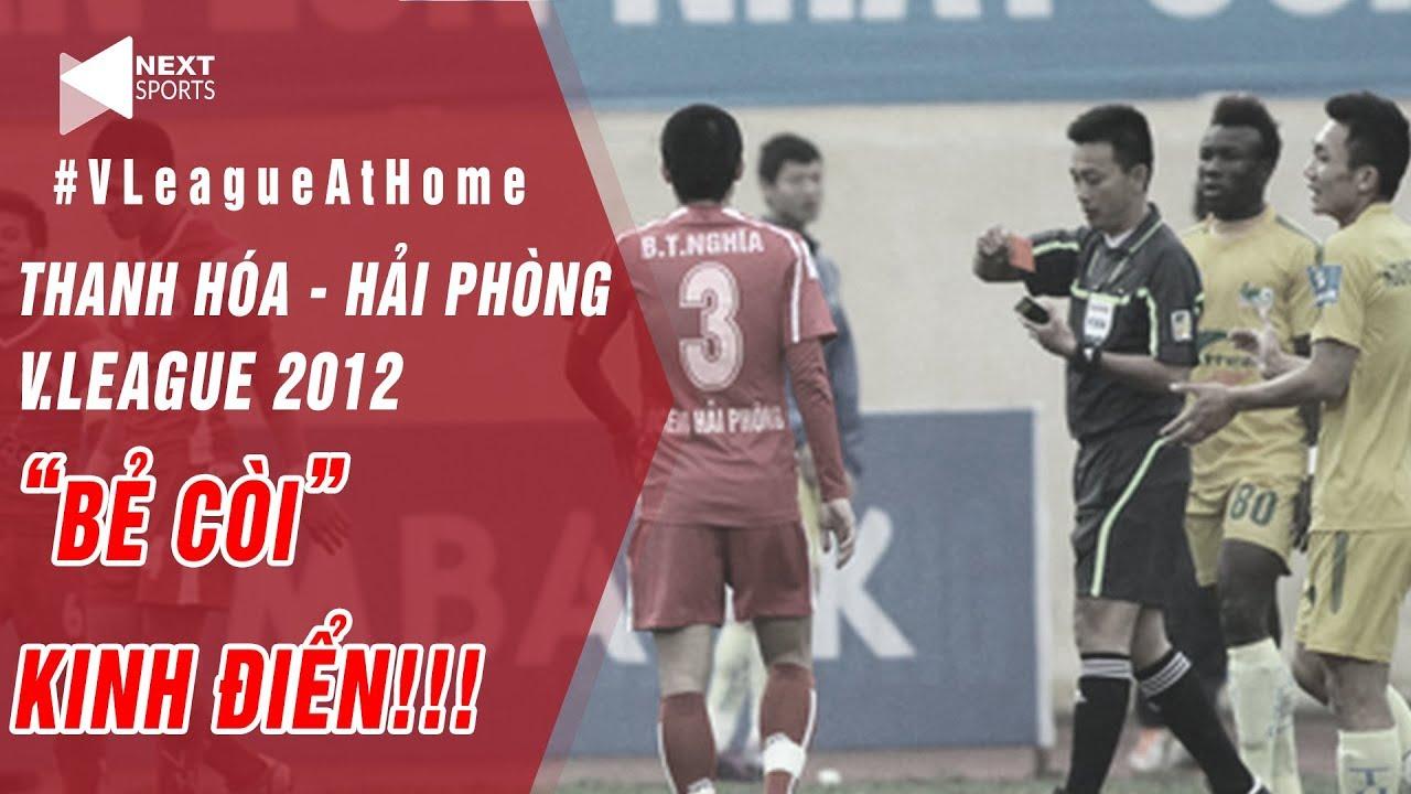 """Pha """"bẻ còi"""" kinh điển nhất V.League của TT Võ Minh Trí ở trận Thanh Hóa – Hải Phòng năm 2012"""