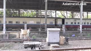 Yangon Central Railway Station, Myanmar by Asiatravel.com