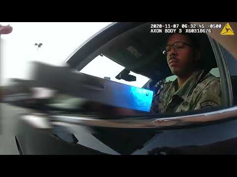 Viral pepper spray video not the first encounter with police involving Army Lt. Caron Nazario!!!