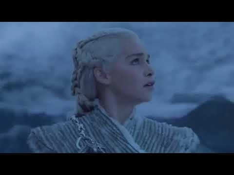 Game of thrones 7x6 night king vs dragon full scene