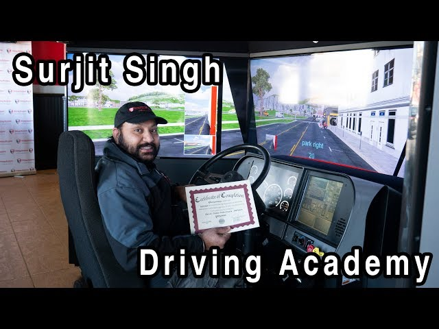 Surjit's Road to Freedom - He PASSED His CDL Road Test - Driving Academy Student Testimonial