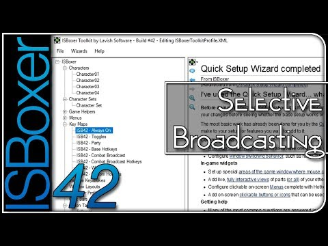 ISBoxer 42 — Selective Broadcasting