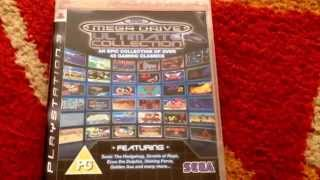 Sega Mega Drive / Genesis Ultimate Collection - Playstation 3 Review