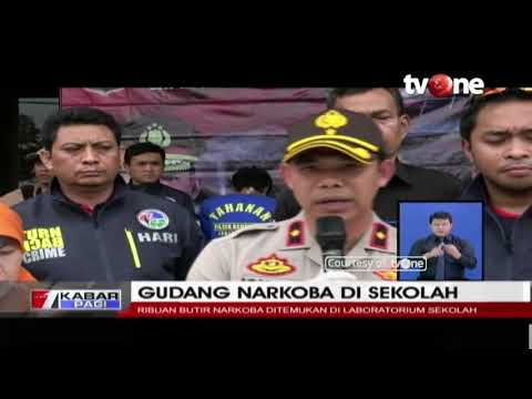 Heboh Gudang Narkoba di Laboratorium Sekolah di Jakarta Barat