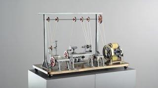Le moteur électrique miniature