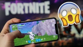 Odpaliłem FORTNITE na iPhone'ie... i SZOK 😱 | AppleNaYouTube