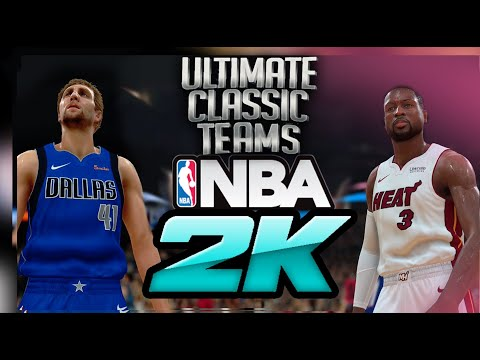 Beyond NBA2K20 - 40 New Classic Teams!     Nuff Said | Ultimate Classic  Teams - NBA 2K17 PC