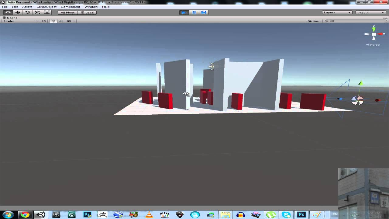Unity 3D / 5 - Wind and RigidBody ( Download )