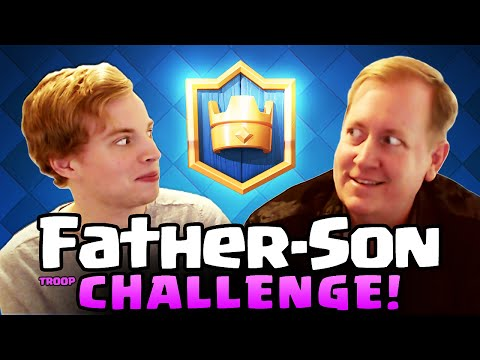 Thumbnail: Clash Royale ♦ Father vs. Son Royale Challenge! ♦ Galadon vs. Chief Pat! ♦