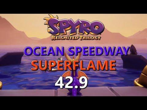 WR Spyro Reignited Ocean Speedway Of Suffering In 429 Superflame