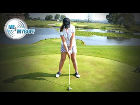 how to hit a golf hybrid club youtube