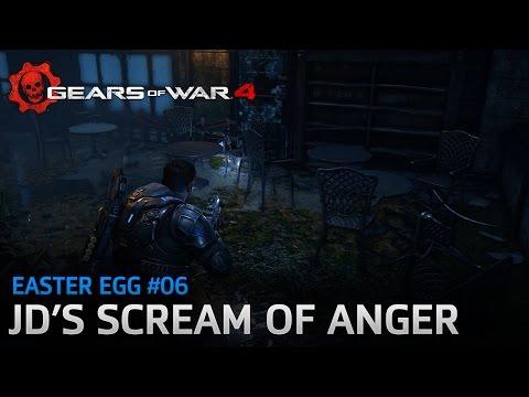 Gears of War 4 - Easter Egg #06: JD's Scream of Anger