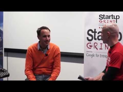 Steffen Wagner & Marc P. Bernegger at Startup Grind Zurich w/ David Butler