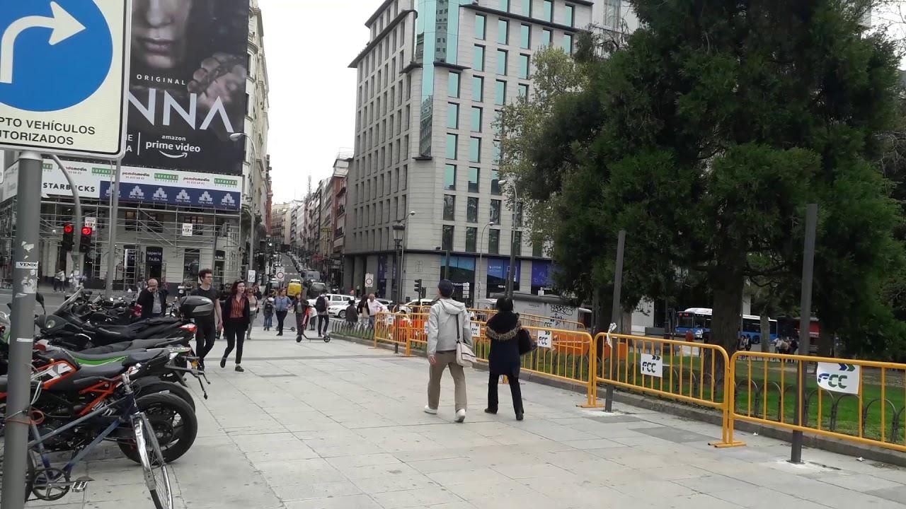 Ya Se Empiezan A Ver Las Obras En Plaza De Espana Madrid