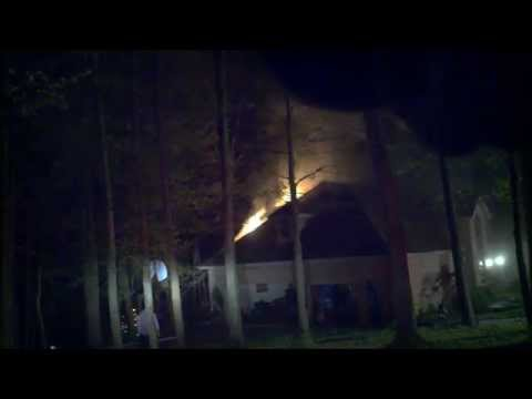 Newark, Ohio Fire Department House Fire 1319 Stratford Woods Working Fire Incident Command