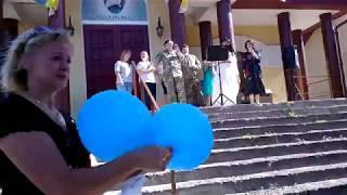 """Пісня """"Україна"""", відкриття центру соціальної реабілітації військовослужбовців."""