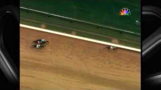 Kentucky Derby 2009 Amazing Overhead replay of Mine That Bird
