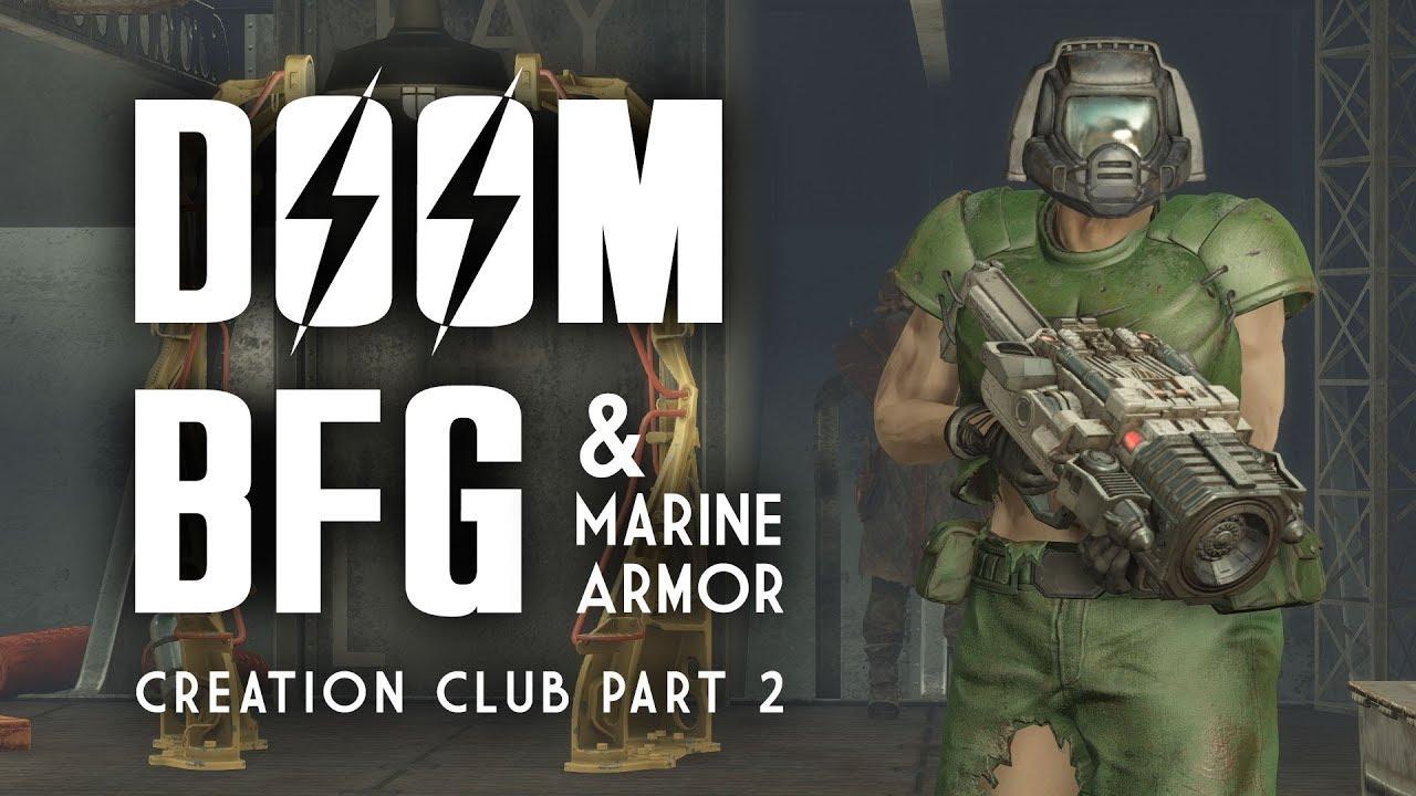 Doom Bfg Marine Armor Plus Chrome Camo Power Armor Paint