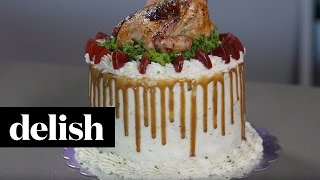 Thanksgiving Cake | Delish