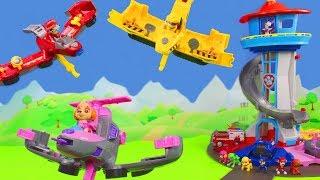 PAW Patrol Unboxing: Skye, Rubble & Feuerwehrmann Marshall Flip and Fly Spielzeugautos für Kinder