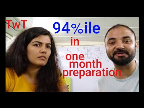 TwT 94%ile with one month preparation. Interview Khushboo Sharma
