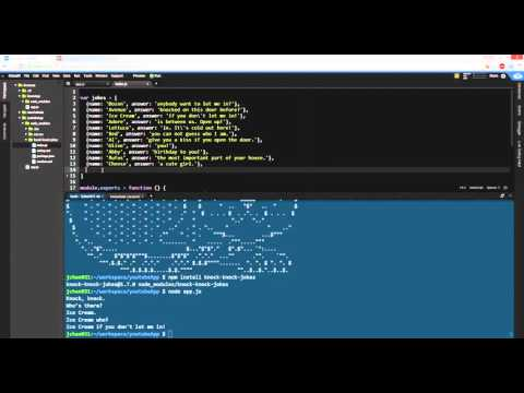 How to install Node Packages? NPM install - YouTube
