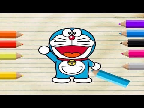 how-to-draw-doraemon-coloring-pages-for-kids---art-colors-for-kids