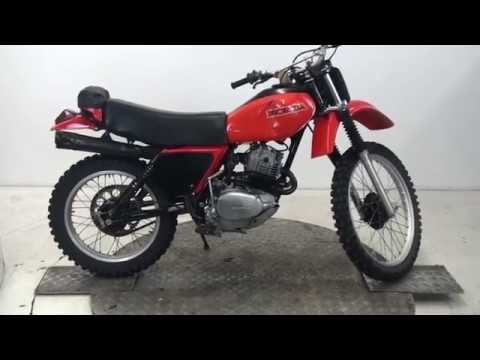 1979 Honda XR250 Enduro Stock No 70746