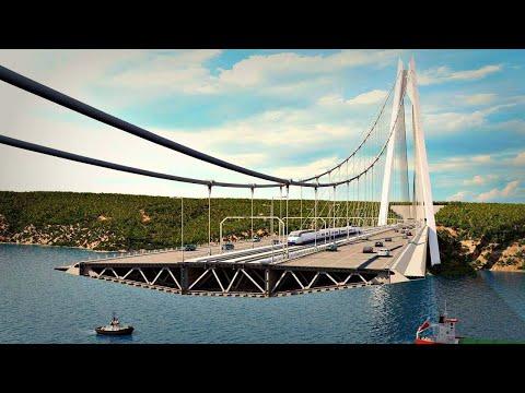 تركيا تبهر العالم من جديد لانها بنت أطول جسر في العالم , شيء لا يصدق  - نشر قبل 4 ساعة