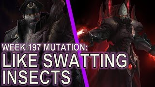 Starcraft II: Like Swatting Insects [Infested vs Infested]