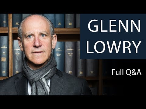 Glenn Lowry | Full Q&A | Oxford Union