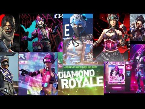 Kumpulan Diamond Luck Royale Dari Awal Sampai Sekarang - Free Fire Battleground
