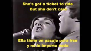 Ticket To Ride - Subtitulada en Español e Ingles