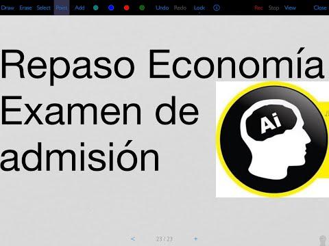 Economía, repaso para examen de admisión