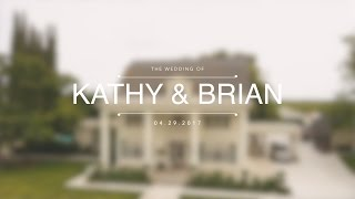 // Kathy + Brian // The Manor Estate Wedding Videographer //