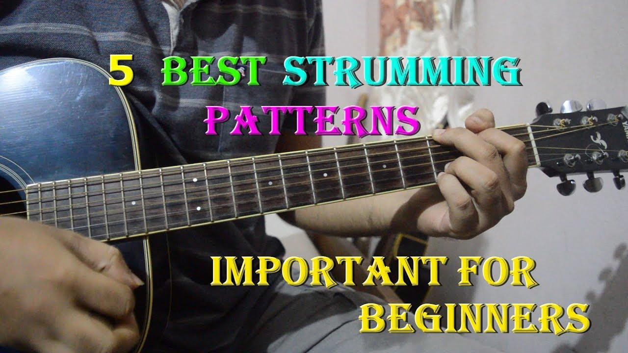 Guitar Strumming Patterns: Six Popular Strumming Patterns ...