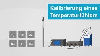 Wie kalibriere ich einen Temperaturfühler? | Vergleichskalibrierung vs....