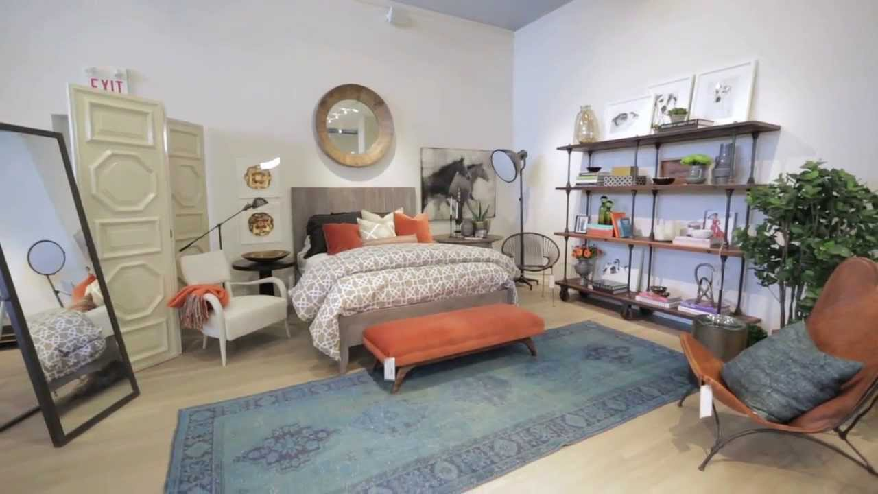 interior design — how to decorate an eclectic bedroom - youtube