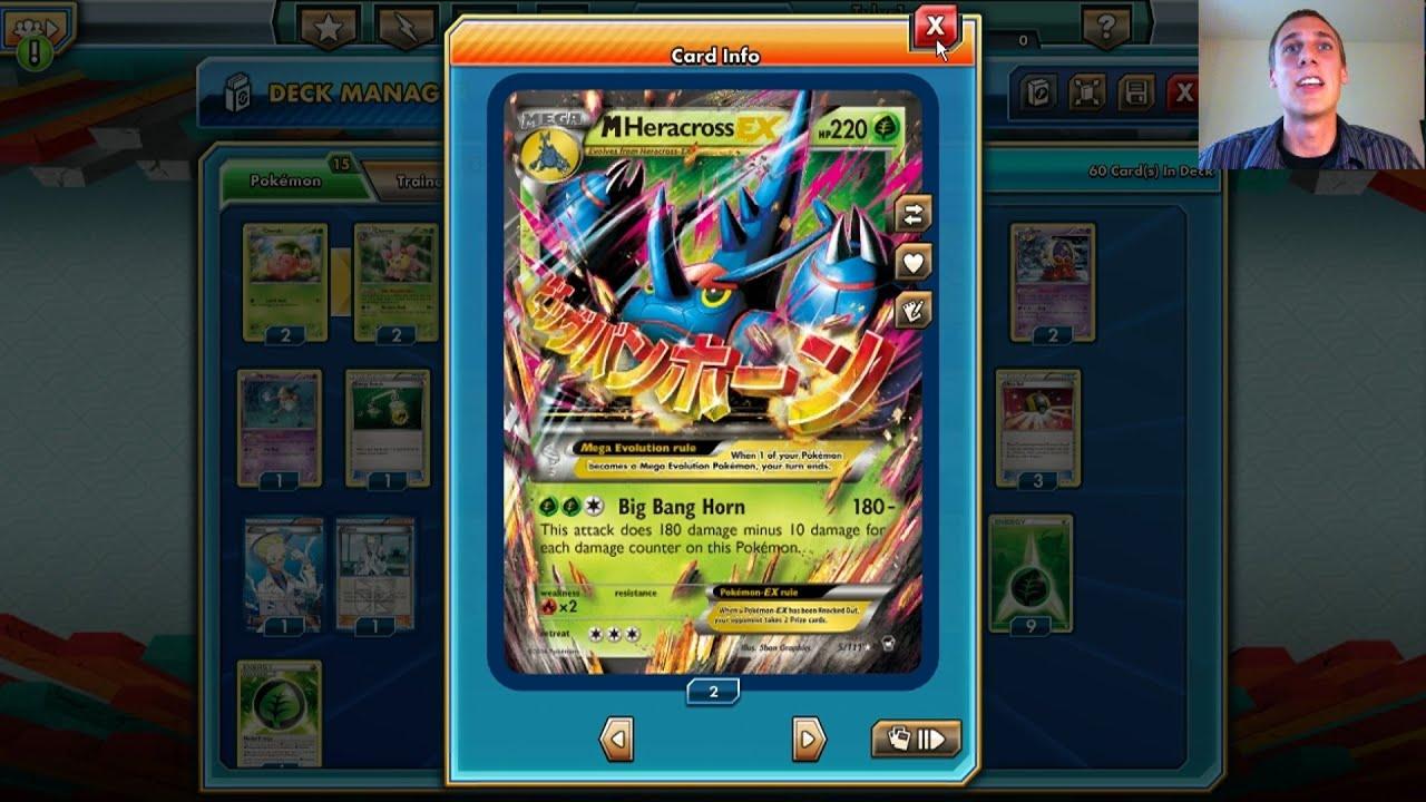 MEGA Heracross! - Pokemon Trading Card Game Online - Let's ... Wailord Pokemon Card