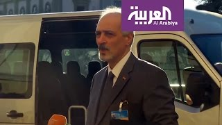 وفد النظام يعتبر تفجيرات حمص رسالة لتخريب جنيف
