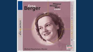 R Strauss Lieder Op68  1 An die Nacht