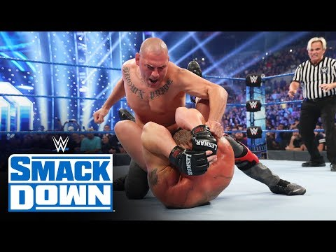 HINDI - Cain Velasquez ne WWE Champion Brock Lesnar par hamla kiya: SmackDown, Oct. 5, 2019