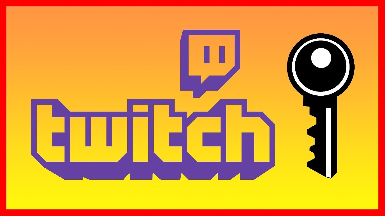 How to Find your Twitch Stream Key code - Tutorial (2019)
